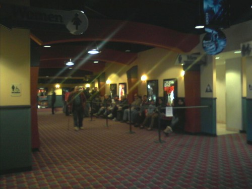 Line for the next Avatar showing.