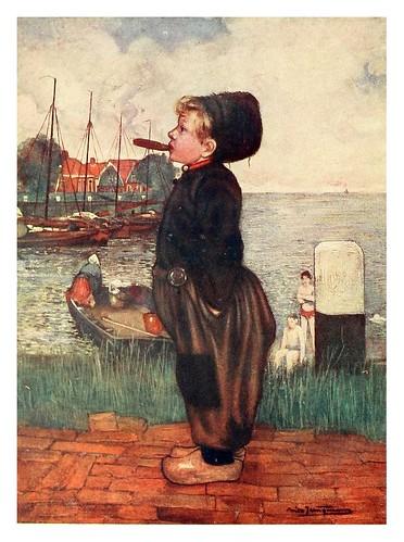 001-Niño fumando-Holland (1904)- Nico Jungman