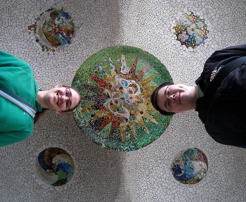 Mosaic Ceiling Selfer