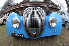 Peugeot 402 Darl'Mat - 09 (Lalogo.fr) Tags: azul geotagged blu 1938 bleu 69 blau lemans coupé racingcars rhonealpes brignais lalogothequecom valeromichel weblogphotolalogofr automobilessportives peugeot402darlmat