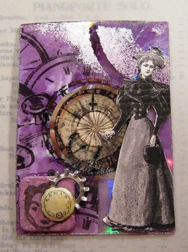 ATC - 'Victorian Lady CD'  #1
