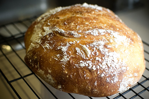 Almost No Knead Bread