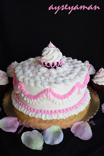 Prenses Cupcake Pasta