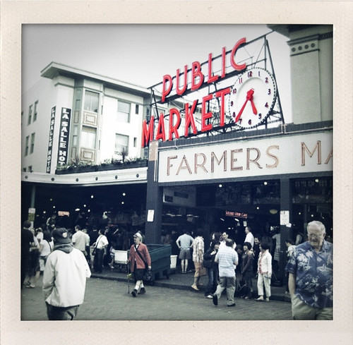 Pike's place, shook up