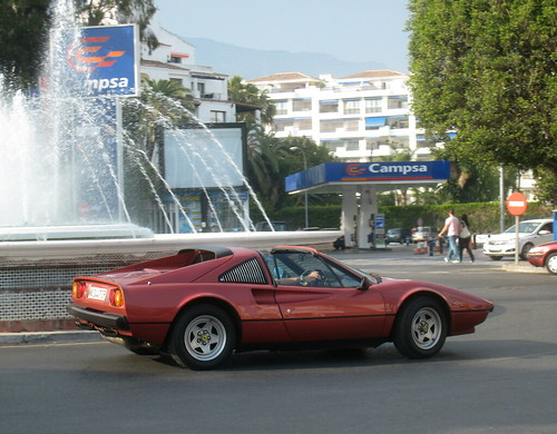 Ferrari 308 Targa. One of the best looking Ferrari's ever (in my opinion)
