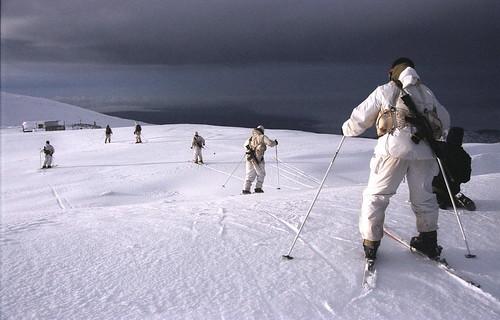 Skiing Into the Night
