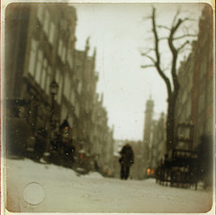 (~Liliana) Tags: winter snow cold texture poland oldtown zima gdansk danzig nieg gdask 3city mariacka 3miasto