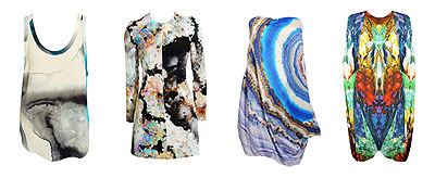 2010 Fashion Trend: Digital Prints - Josh Goot and Alexander McQueen