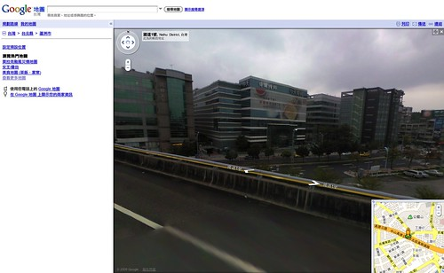 Google Maps Street View (by YU-TA LEE)