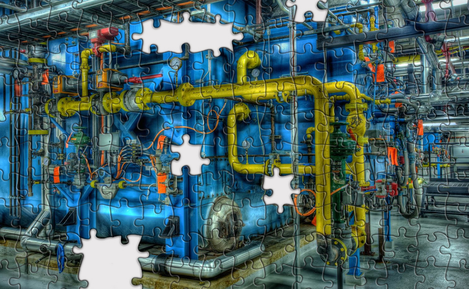 puzzel fabriek