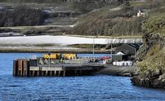 Canna from MV Loch Nevis 1/2