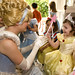 Cinderella asks Emma about her magic wand!