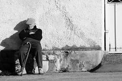 Vecchiaia (CarloAlessioCozzolino) Tags: shadow nap ombra riposo walkingstick oldage anziano bastone vecchiaia elderlyperson
