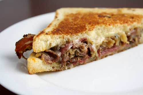 Pastrami Melt from The Grilled Cheese Truck in Los Angeles