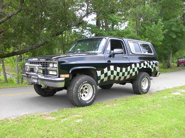 chevrolet chevy 1991 blazer k5