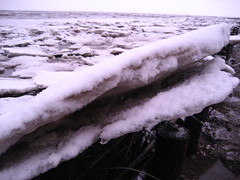 Schots en scheef (AnouschkaH) Tags: wadden groningen wad noordpolderzijl ijsschotsen ijswadlopen