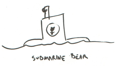 366 Cartoons - 346 - Submarine Bear