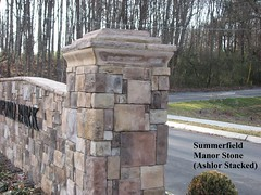 """Summerfield Manor Stone  Entry Column • <a style=""""font-size:0.8em;"""" href=""""http://www.flickr.com/photos/40903979@N06/4288599842/"""" target=""""_blank"""">View on Flickr</a>"""