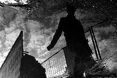(17) - Silent Spring -  Hommage  Daniel Deltour (Donato Buccella / sibemolle) Tags: italy milan rain reflections milano puddles canon400d rainingdays sibemolle danieldeltour hommageadaniel
