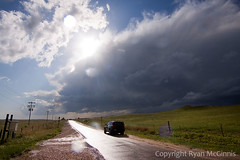 IMG_8371 (ryanmcginnisphoto) Tags: 2 usa sun vortex storm cars sport clouds rural project nebraska driving unitedstates extreme science thunderstorm behind copyspace scientists meteorology webres nsf stormchasing stormchasers mcginnis researchers stormchase nationalsciencefoundation weatherresearch vortex2