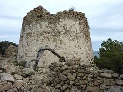 La tour de Sponsaglia en hiver