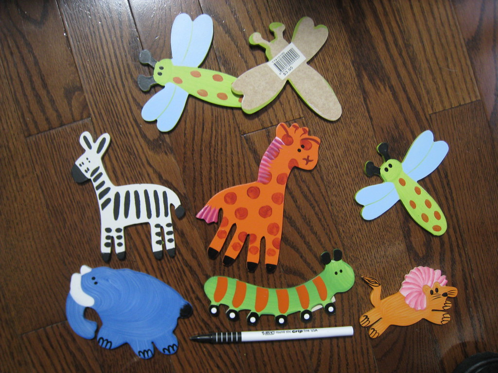 Wooden nursery wall decorations NEW