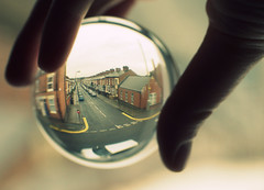 { twentyfour } ({ that benbow }) Tags: street window glass ball leicester apad doubleyellowlines glassball aphotoaday newcameraday apadgroup thisnowmaymeanthatmyuniworksuffers