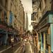 Purificación matutina de Rue de la Huchette