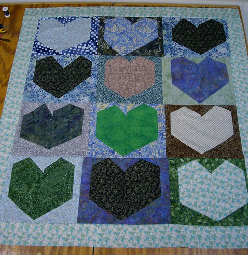 the back of my quilt: done!