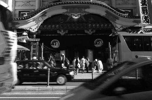 歌舞伎座*対岸 22年1月