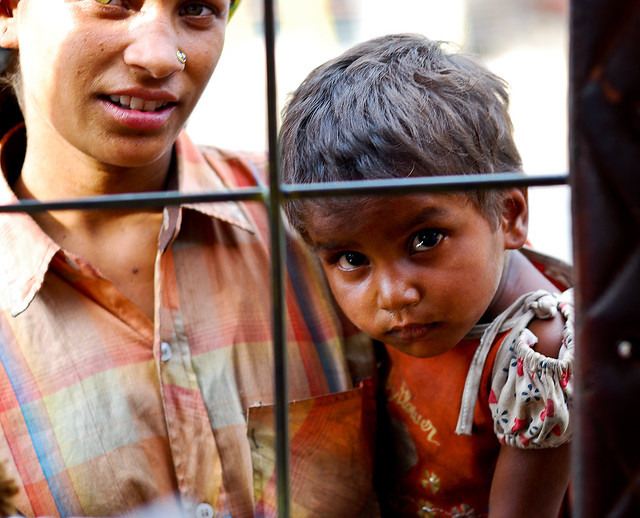 Poor children - thoughts about photography