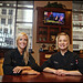 Licia Zampino + Shelly Harris [Boston Ave. Grill]