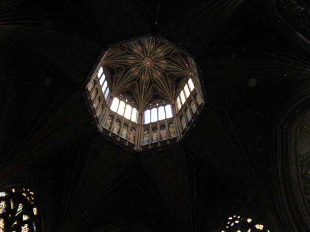Ely cathedral from the floor
