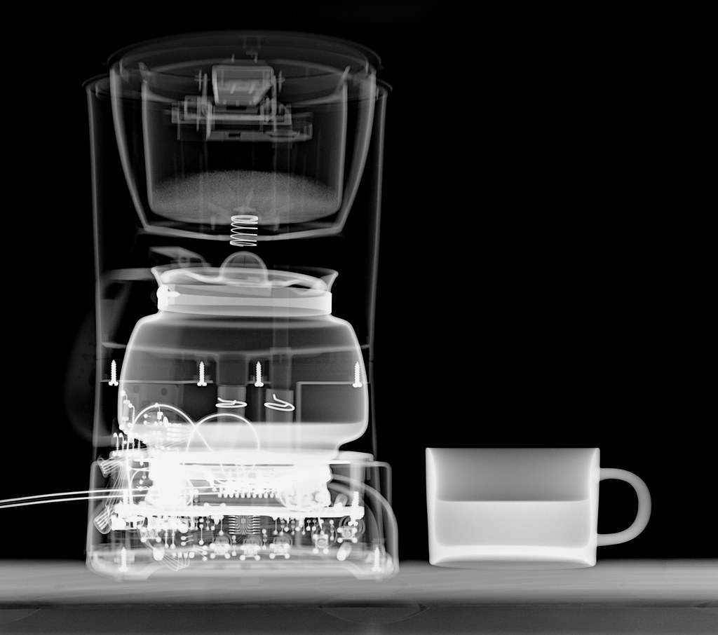 X-ray Coffee Maker