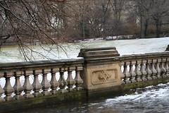 IMG_1758 (mgorod1448) Tags: newyorkcity bridge winter blackandwhite snow fountain centralpark historic archway bethesda bowbridge angelofthewaters angelofthewatersfountain