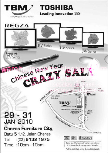 29 - 31 Jan: CNY Crazy Furniture Sale