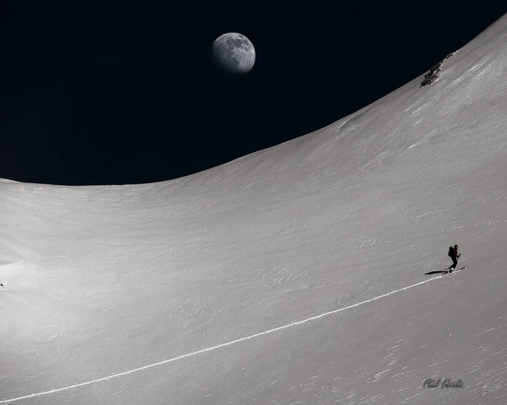 ion con luna en la hourquette d'arre