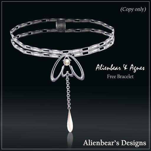 2010 AlienbearAgnes free bracelet