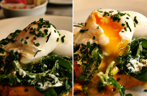 hundred acres poached eggs