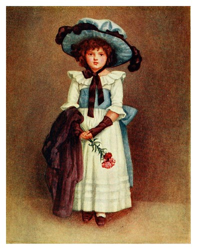005-La pequeña modelo-Kate Greenaway 1905- Marion Spielmann y George Layard