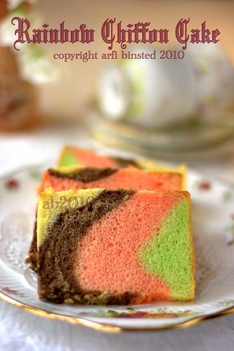 Rainbow Chiffon Cake-2 by ab2010