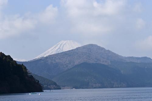 箱根 海盜船 富士山