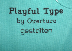 Playful Type Tee: Nutrition