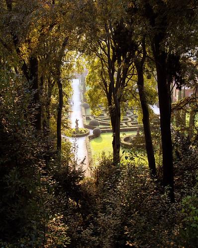 Verona. The Giusti Garden.