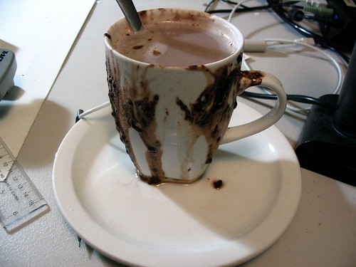 Hot chocolate explosion