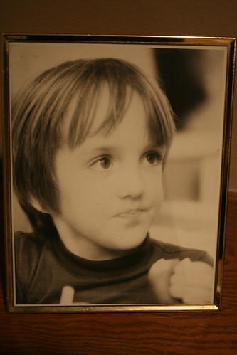 portrait of the artist as a child