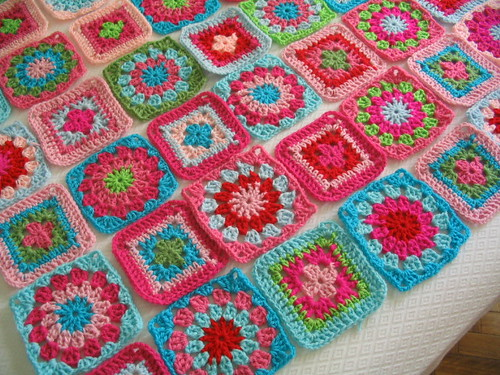 Cobijas tejidas a crochet - Imagui