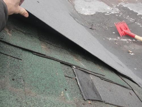 repairing flat roof membrane