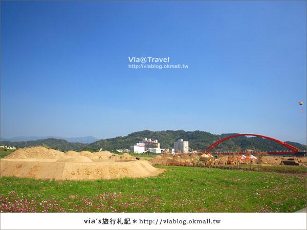 【2010春節旅遊】春節假期~南投市貓羅溪沙雕藝術節2
