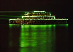 Brighton West Pier laser